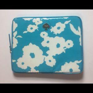NWOT Kate Spade Turqouise IPad/Tablet Sleeve